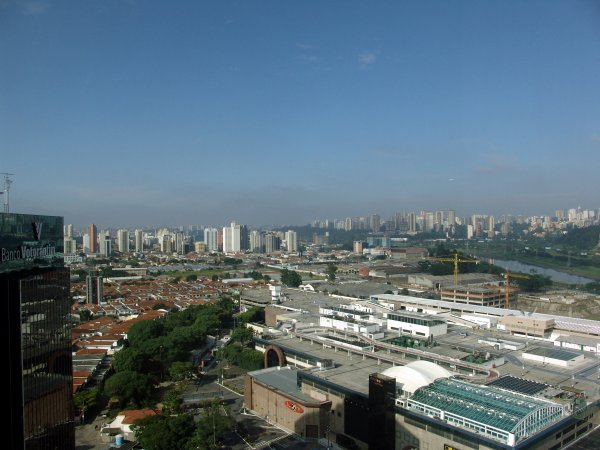San Paolo dalla finestra del mio albergo